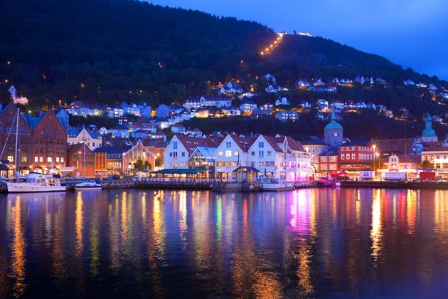 Overnatting i Bergen